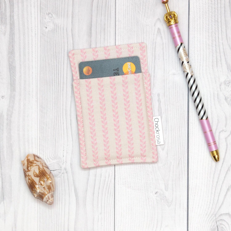 Handmade Wooden Wallet Credit Card Holder Slim Minimalistic Wallet