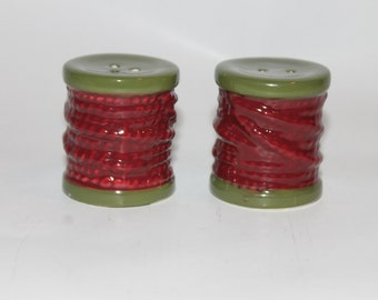 Pair of Vintage Salt & Pepper Shakers