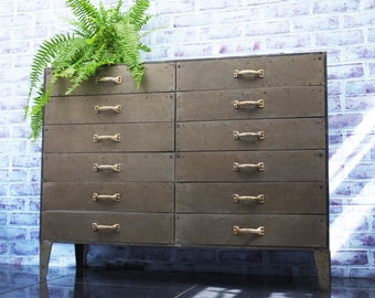 Industrial Lofthouse Cabinet - Chest of Drawers