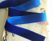 Colbalt Blue Velvet Ribbo...