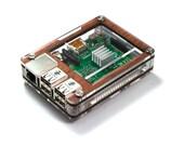 Zebra Case - Raspberry Pi3, 2 and B+ (Wood) with Heatsinks