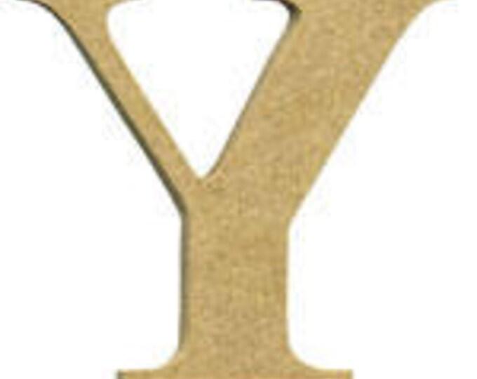 MDF Letter Y