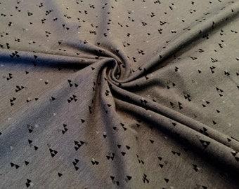 """Nooteboom Jersey """"little triangle"""" dark grey"""