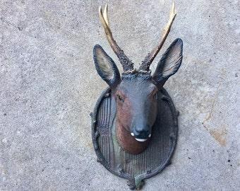 Roe Deer Head Cast Ceramic