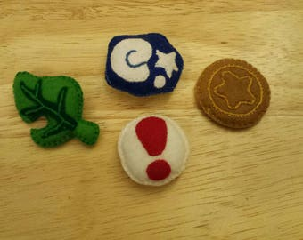 Animal Crossing Hand Stitched Mini Icons
