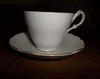 Regency Bone China Made in England Cup and Saucer