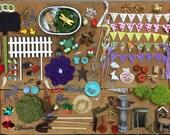 DIY fairy garden accessories grab bag, Build your own fairy garden.