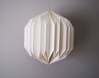 Florence Origami Paper Lampshade | Pendant Lighting | Designer Lamp Shade | Origami Design | FREE SHIPPING
