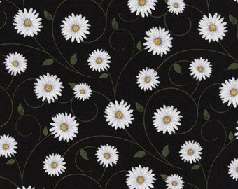 Timeless Treasures- Daisy Vines, Fabric by the Yard