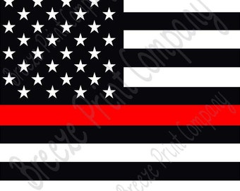 Flag craft  vinyl sheet - HTV or Adhesive Vinyl -  pattern black and white with red line HTV2804