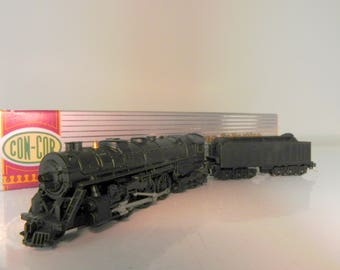 "con-cor J3a 4-6-4 Hudson ""N"" scale steam locomotive undecorated"