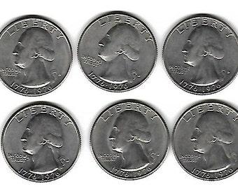 Lot of 10 Bicentennial Quarters 1776-1976