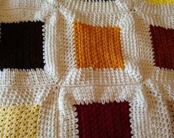 Cozy Pet blanket golden hues.