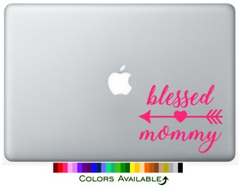 Blessed Mommy Laptop Decal