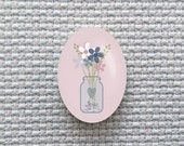 Magnetic Bouquet Needle Minder for Cross Stitch, Embroidery, & Needlecrafts (18mmx25mm with Strong Magnet)
