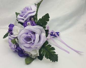 Toss Away Wedding Bouquet-Choose your colors!