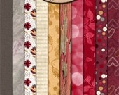 Digital Scrapbooking, Paper Pack Extra, Valentine's Day: Always Yours