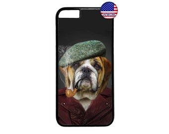 Funny Cute Cool Boss Dog Case Cover for iPhone 4 4s 5 5s  5C 6 6s 6 Plus 7 7 Plus iPod Touch 4 5 6 case Cover