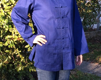 Traditional Chinese jacket, for everyday use, and to practice Tai Chi Chuan, Qi Gong and Kung-Fu.