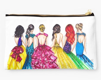 Princess Cosmetic Case