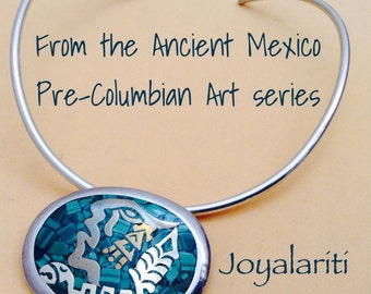 Taxco 925 From the Ancient Mexico Inspired Series of Pendant / Pin Combinations.