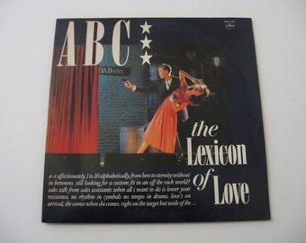 ABC - The Lexicon Of Love - Circa 1982