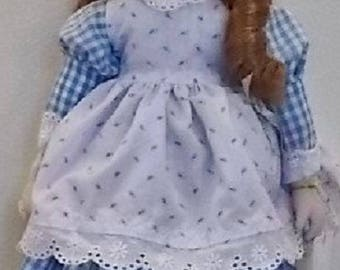 Gorham Musical Doll Mary Mary Quite Contrary Plays to tune of Hi Lilli, Hi-Lo
