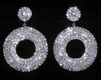Style # 15084 - Stone Wheel Earrings