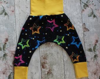Peedie Boo Harem Style Trousers......Neon Stars