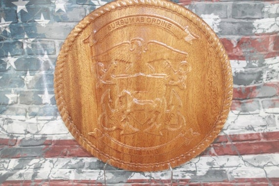 US Navy Mustang Carving, Navy Gifts, US Navy, Mustang, Carved wood, retirement gifts, promotion gifts