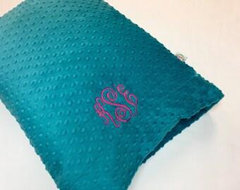 Minky Dot Pillowcase with Monogramming
