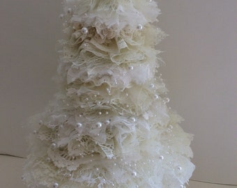 Shabby Chic Lace Tree