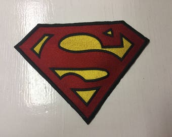 Huge Superman Embroidered patch DC Cosplay Costume