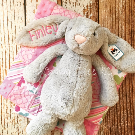large personalized jellycat bunny rabbits by thegivingtreesc