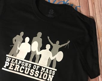 Weapons of Mass Percussion T--Shirt
