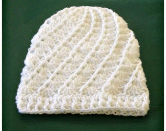 crochet toddler beanie, crochet kids beanie hat, toddler beanie hat in white, crochet beanie hat, toddler beanie hat, winter beanie hat