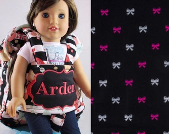 Darling and Doll Backpack in Paris Glitter Bow