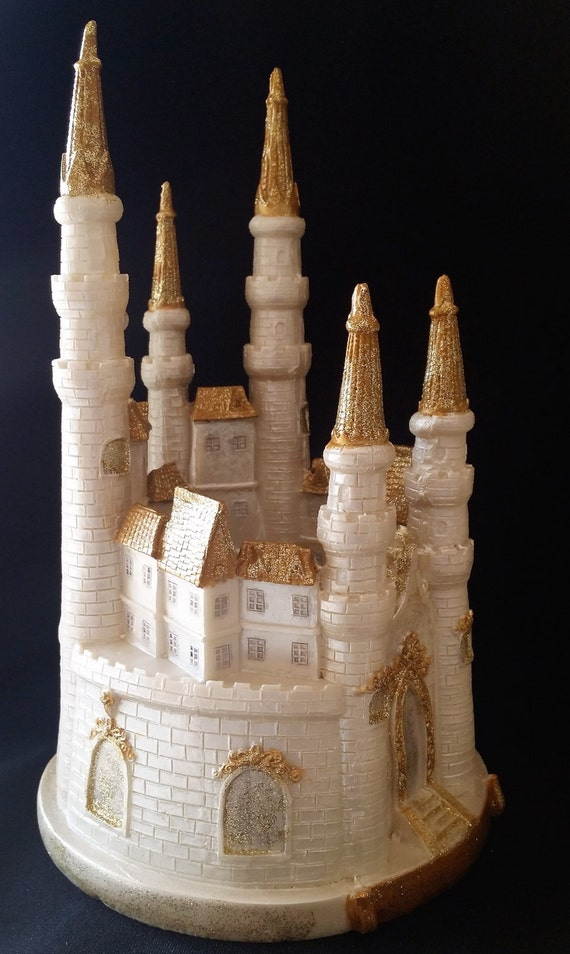 princess castle wedding cake toppers tale castle cake topper castle cake topper tale 18767