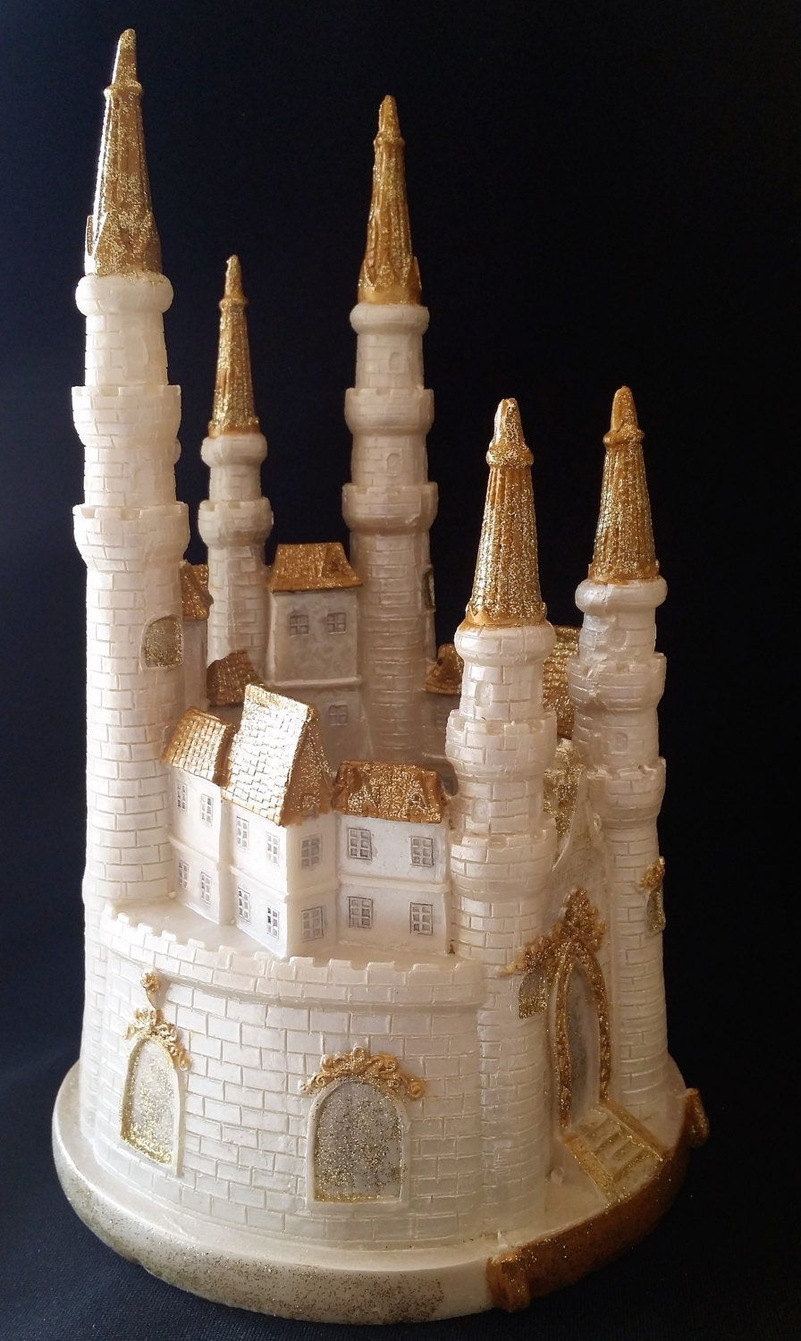 fairy castle wedding cake topper tale castle cake topper castle cake topper 14093