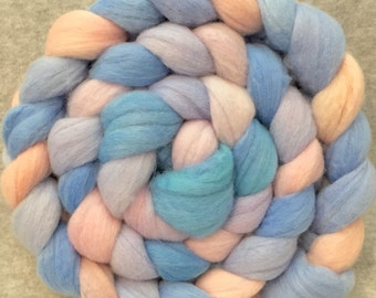 Hand Dyed Merino Wool Top - Pastels I