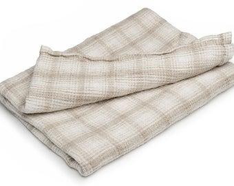 Gray linen bathroom towel, white linen towel, pure linen towel, rustic linen towel, flax towel, eco friendly towel, flax bathroom towel