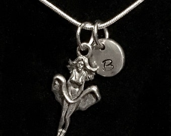Marilyn Monroe Sterling Silver Necklace, Monroe Silver Necklace, Marilyn Sterling Necklace, Woman Sterling Necklace qb44