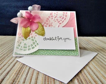 Blank All Occasion Greeting Card, Greeting card for Mothers, Sisters, Daughters, Best Friend, Bridesmaids
