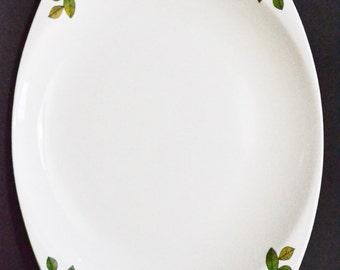 J & G MEAKIN Large Meat Platter 'Topic' Design