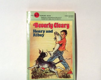 Vintage 1980s Beverly Cleary Paperback 'Henry and Ribsy'