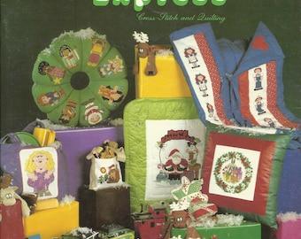 The Mistletoe Express Cross Stitch Booklet