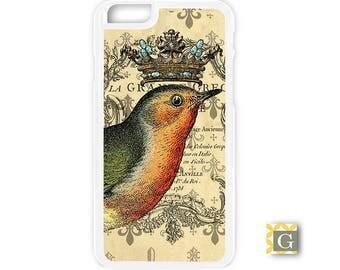 Galaxy S8 Case, S8 Plus Case, Galaxy S7 Case, Galaxy S7 Edge Case, Galaxy Note 5 Case, Galaxy S6 Case - Crowned Bird