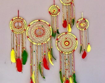Reggae ~ Rasta Dream Catcher