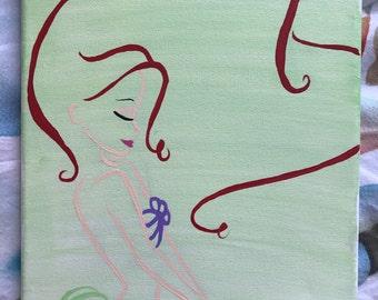 "Ariel ""The Little Mermaid"" - 8x10"" Original Painting"