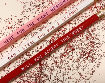 Bachelor / Bachelorette Pencils